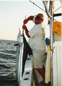 chris with billfish