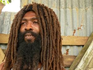 illustration rastafarian man