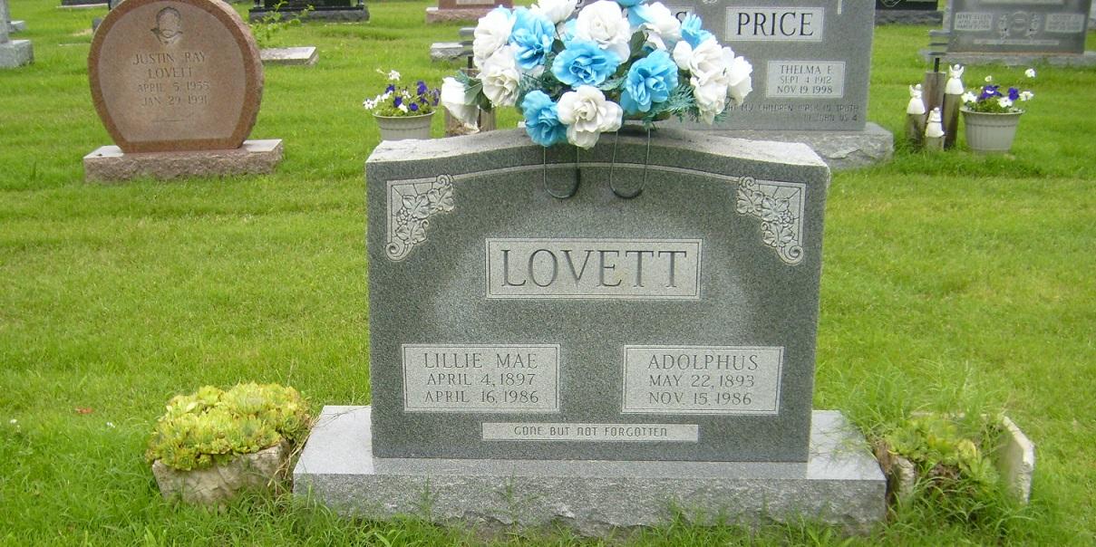 Lillie Mae Lovett, a prose poem