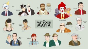 illustration fast food