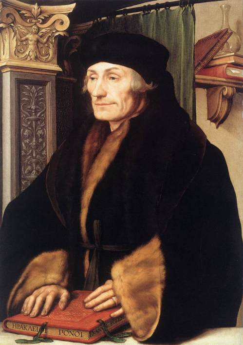 Illustration erasmus holbein