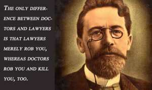 illustration defense of lawyers quote anton-chekhov