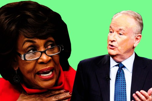 maxine waters bill o reilly